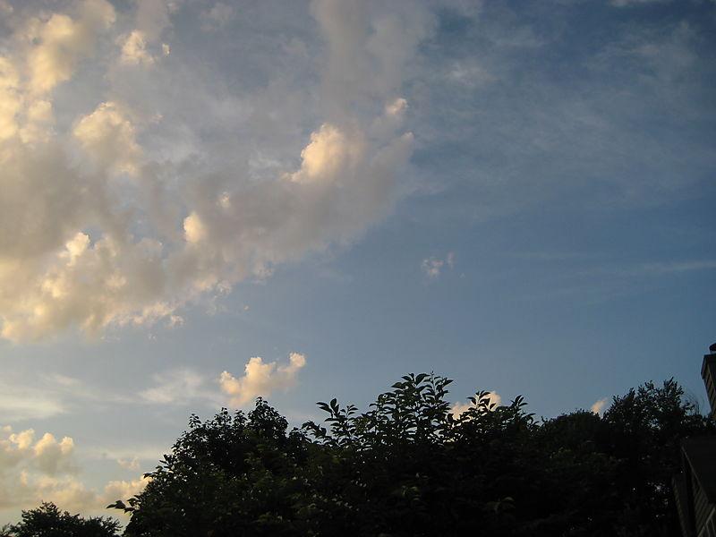 Compo Beach, sky 008